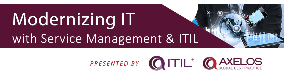 Modernizing IT with Service Management and ITIL
